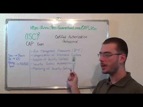 CAP – Certified Exam Authorization Test Professional Questions