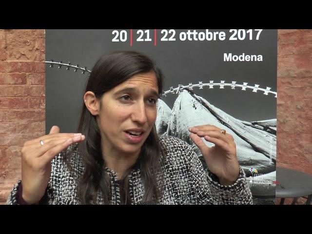 Festival della Migrazione 2017_INTERVISTA a Elly Schlein
