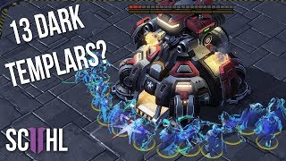 13 Dark Templars vs. Planetary Fortress? - Starcraft 2: Maru vs Neeb