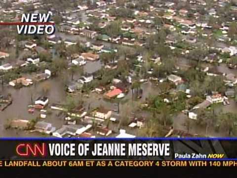 Hurricane Katrina Day 1 Vid 1 Live News the Day After CNN Paula Zaun