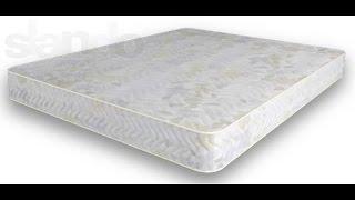 видео Як вибрати матрац для двоспального ліжка: ціна-якість?