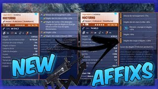 NEW AFFIXS % AND EXPLICATIONS - FORTNITE SAUVER THE WORLD