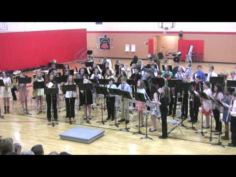 Amery Middle School Spring Concert 2015 - Cadet Band