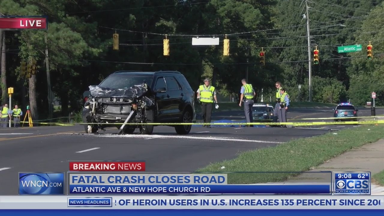Deadly crash in Raleigh closes roads