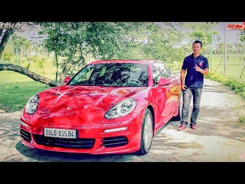 nhận xét xe Porsche Panamera 5 tỷ ở Việt Nam |xehay.vn|