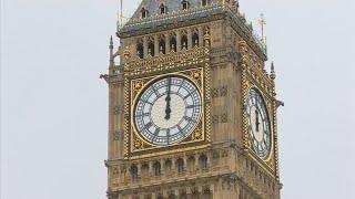 보수 앞둔 런던 '빅벤' 마지막 종소리……