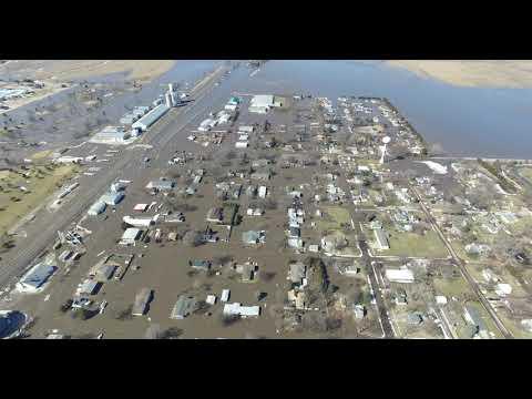 North Bend, NE flooding 3/15/19