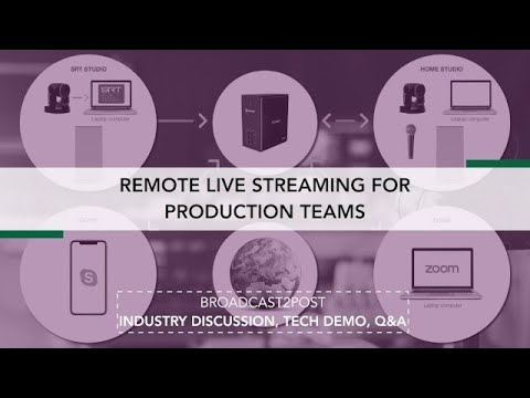 Remote Live Streaming For Production Teams [Extended Version]