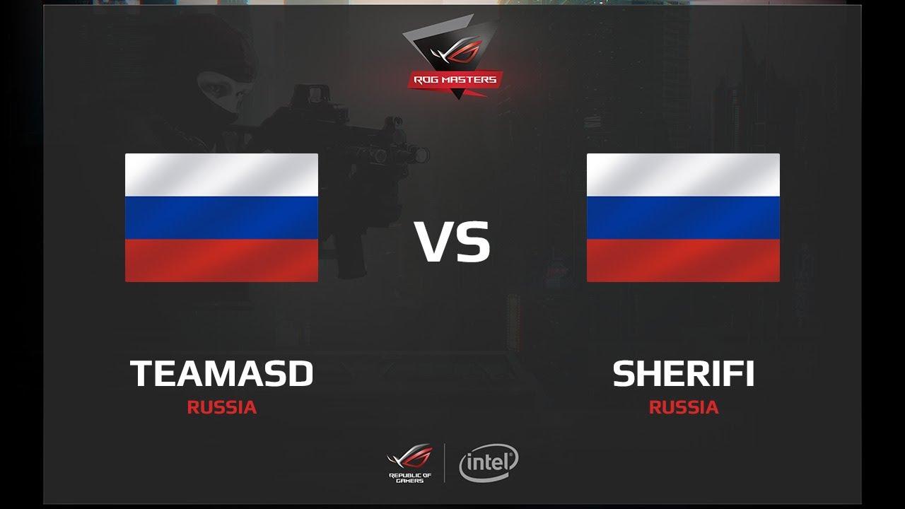 teamasd vs Sherifi, map 3 train, ROG MASTERS 2017 Russia Qualifier