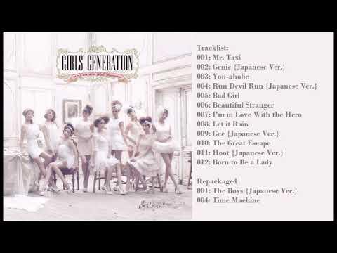 [Full Album] 少女時代 (SNSD)-  Girls' Generation 1st Japanese Album (소녀시대)