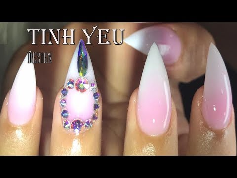 nail technician/the best nail/ TINH YEU-HOW TO MAKE SHAPE THE BEST#5