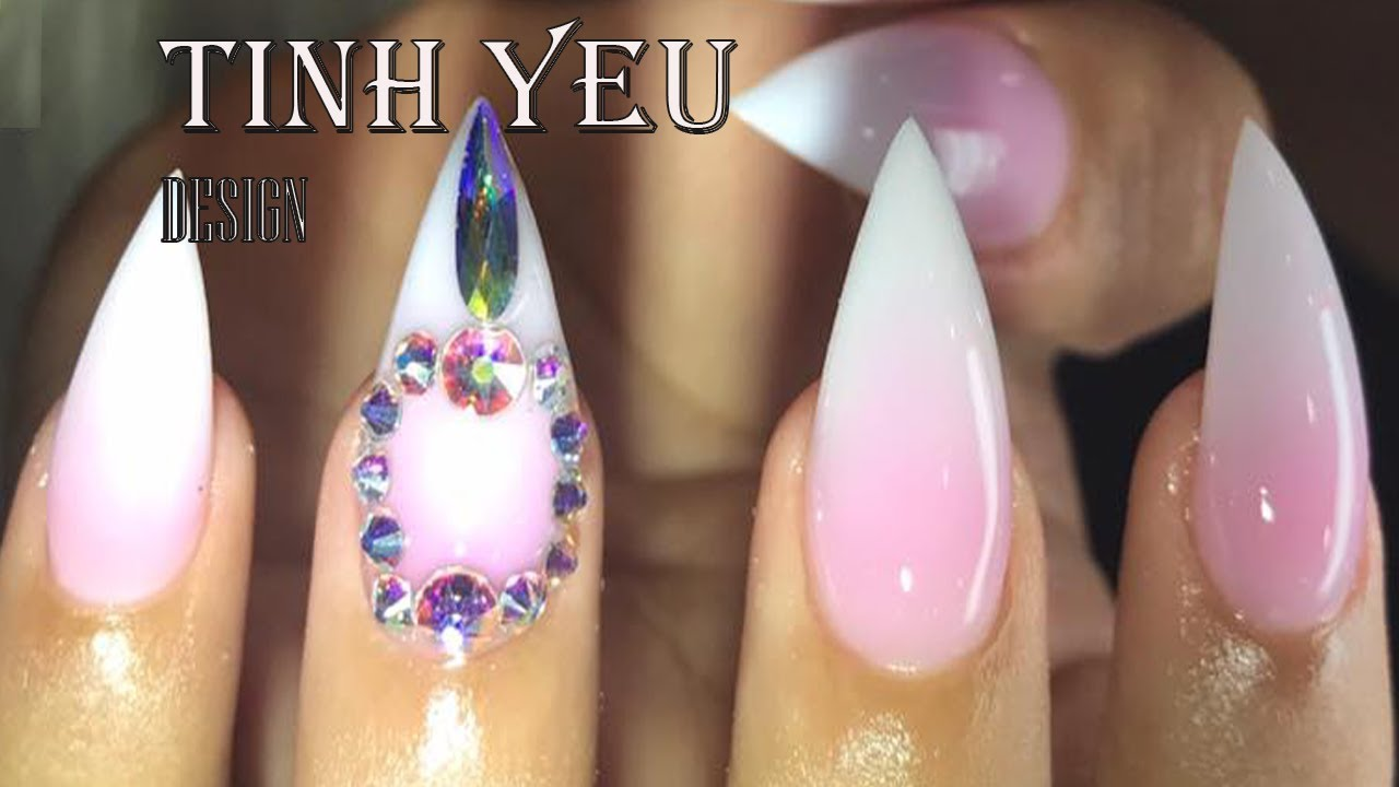 nail technician/the best nail/ TINH YEU-HOW TO MAKE SHAPE THE BEST#5 ...