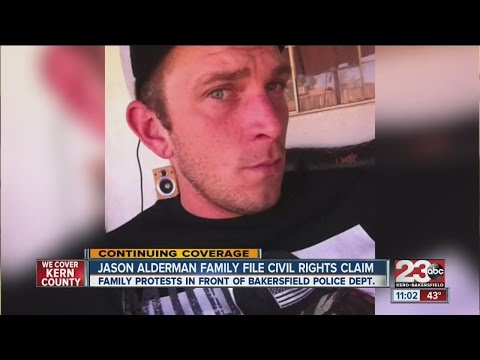 Jason Aldrerman's family file civil rights claim