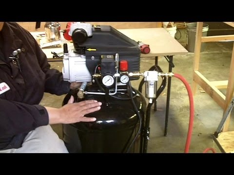 Air Compressor, Line Setup and How to Use Air Tools for Begi