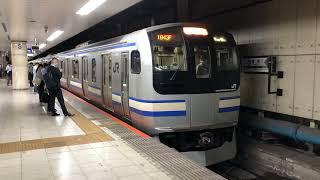 E217系クラY-12編成+クラY-133編成東京発車