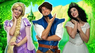 RAPUNZEL WEDDING. WILL FLYNN RIDER MARRY RAPUNZEL or MOTHER GOTHEL? (Totally TV)