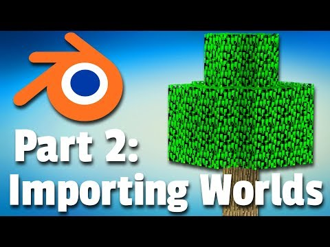 Making A Minecraft Animation | Part 2: Importing Worlds (Tutorial)