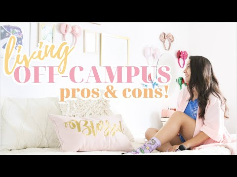 LIVING OFF-CAMPUS IN COLLEGE PROS + CONS | University Of Florida