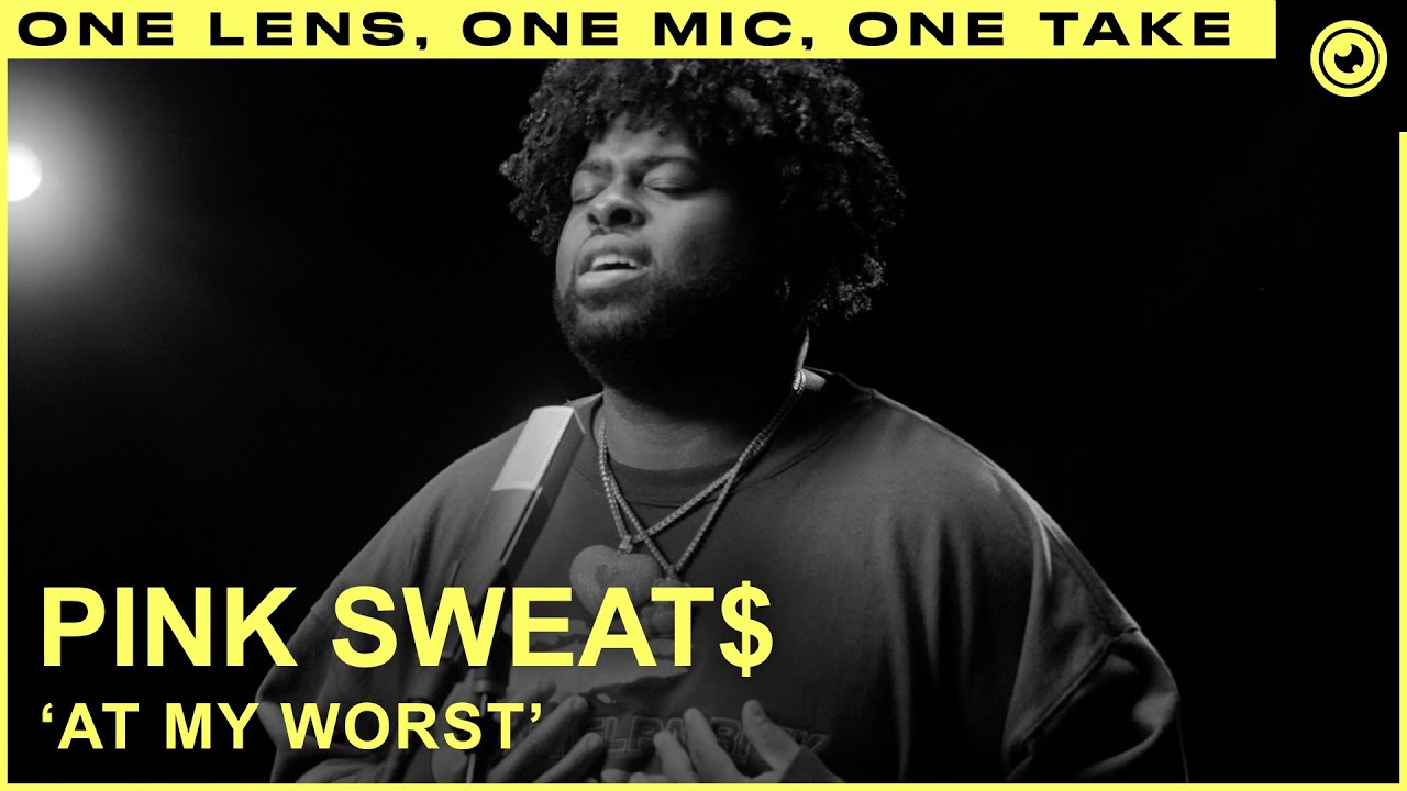 Pink Sweat$ - At My Worst (LIVE ONE TAKE) | THE EYE Sessions