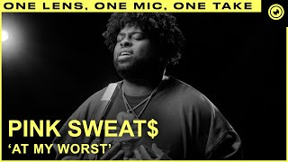 Download Pink Sweat$ - At My Worst (LIVE ONE TAKE) | THE EYE Sessions
