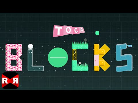 Toca Blocks (By Toca Boca AB) - iOS / Android - Gameplay Video