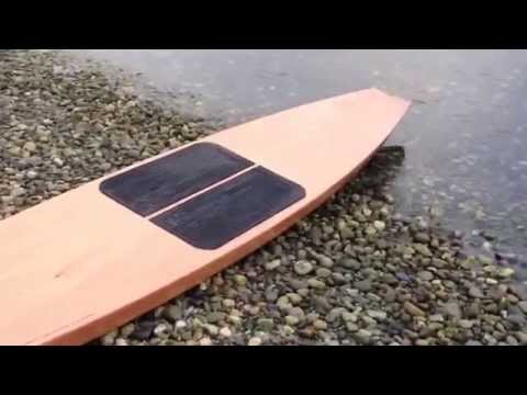 14' Wooden Stand Up Paddleboard SUP