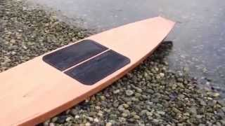 Building a wooden Stitch and Glue Tango SUP Stand up Paddleboard
