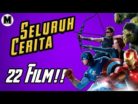 Seluruh Alur Film MCU Hingga Avengers Endgame | 22 FILM TAMAT!!