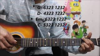 1 Picking Pattern - Play 100 % of Hindi Romantic / Sad songs - Easy beginners lesson hindi