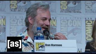 Dan Harmon's Summer Impression | SDCC 2019 Rick and Morty Panel | adult swim
