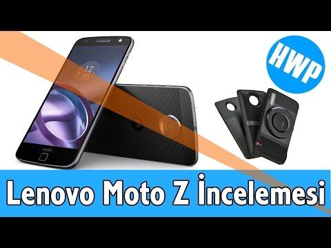 Lenovo Moto Z İncelemesi