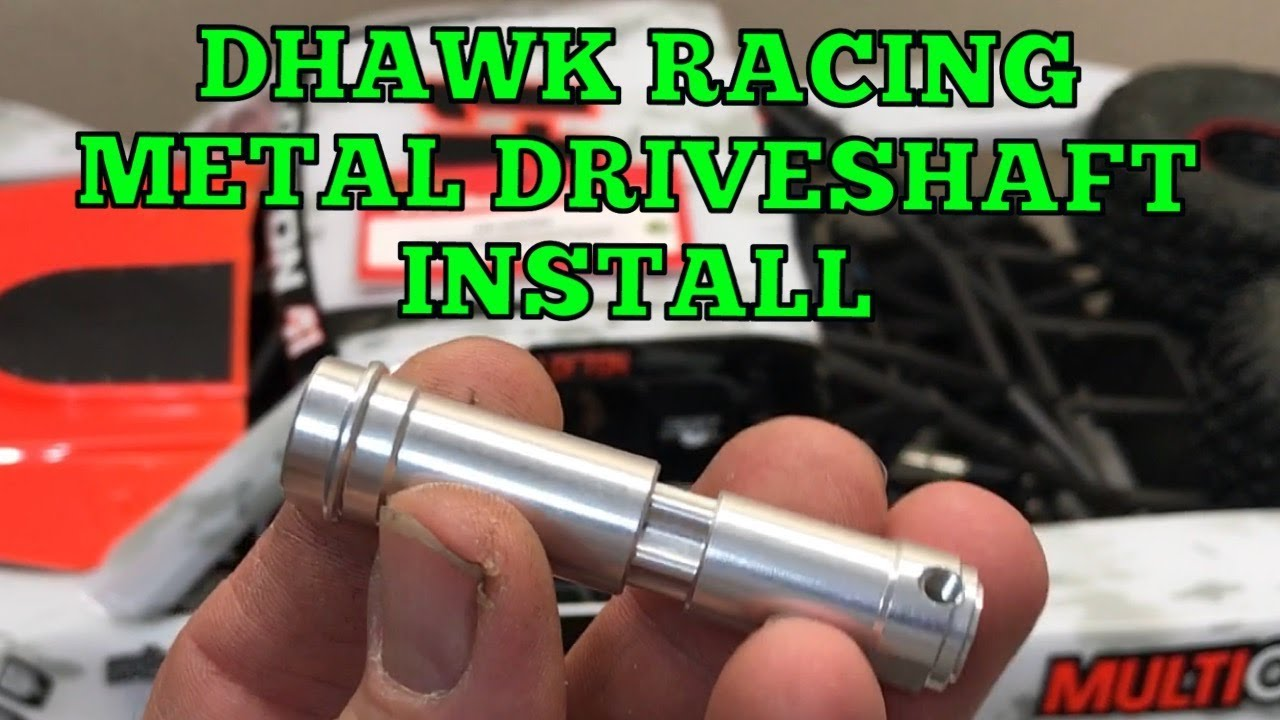 CNC Steel Center Front Driveshaft Upgrade For Traxxas Unlimited Desert Racer UDR