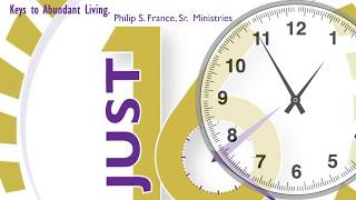 "Weekly Video Series: JUST 16 ~ Keys To Abundant Living ""Staying Connected With God"" Part 3"