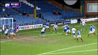 Bury vs Portsmouth - League Two 2013/2014