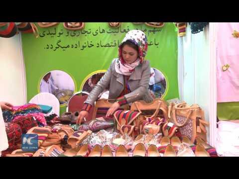 Afghanistan women earn money for better lives