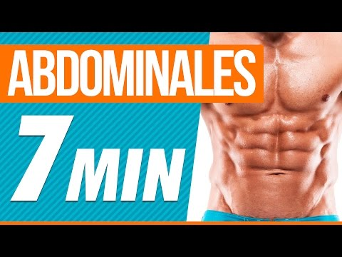Rutina de abdominales en casa - 7 minutos