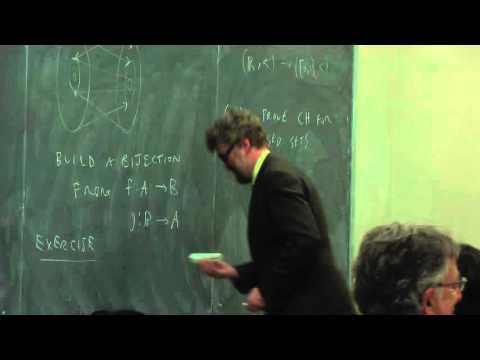 Joel David Hamkins - Apr 27, 2015 - Morning Session (Part 1 of 2)