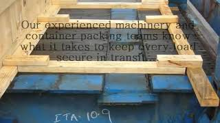 Container Packing - Container Packing On A Flat Rack