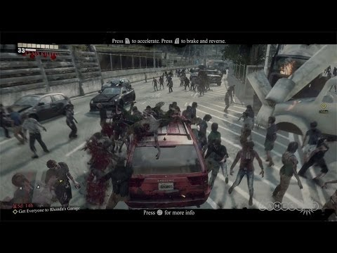 Zombie Roadkill – Dead Rising 3 Gameplay