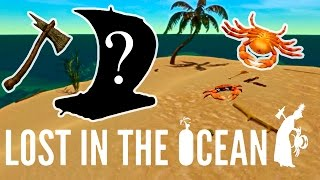 Lost in the Ocean VR - Express surviving and Crab