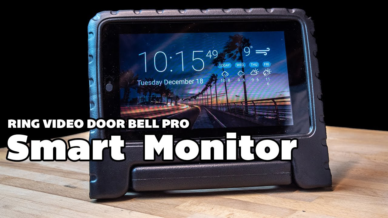 Ring Video Doorbell Smart MONITOR  Can you make a smart monitor and PHOTO  FRAME for under £50?