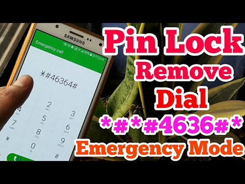 How To Pin Lock Remove Emergency Mode Any Andriod Mobile Without Computer No Data Loss New Trick2019