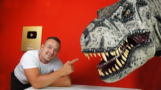How to make INSANELY detailed T-rex from Cardboard