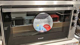5000 Mgsı Arçelik Mini Fırın | 50 Litre Hacimli Kompakt Mini Fırın | Gri ve Siyah Karışımlı Fırın