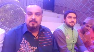 vuclip AMJAD SABRI KA LAST LIVE TRANSMISSION WAS WITH ME :(