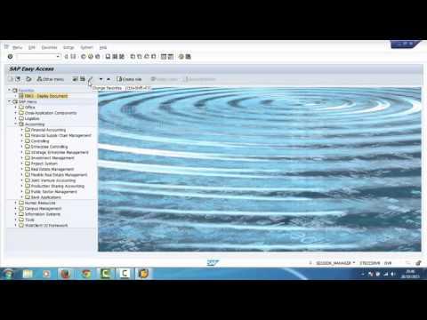 Sap Tutorial For Beginners SAP Training Navigation 1