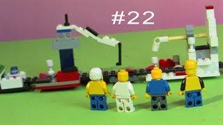 Нас зловили!! Ас перетворився..... #22   Зомбі апокаліпсис   LEGO мультфільм