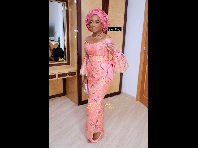 Latest Lace Styles For Aso Ebi 2018: Classy And Stunning Aso Ebi Styles 2018