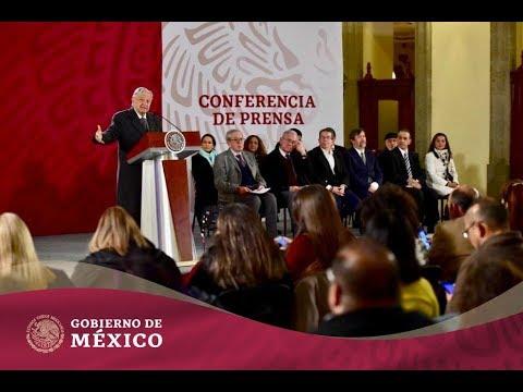 #ConferenciaPresidente | Miércoles 23 de enero de 2019