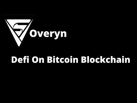 Soveryn – Defi On Bitcoin Blockchain